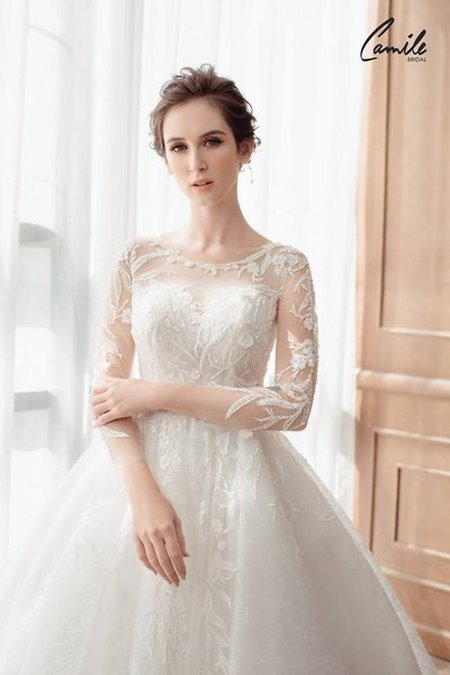 thuê váy cưới 2 Tiền thuê váy cưới ai trả, cô dâu hay chú rể?