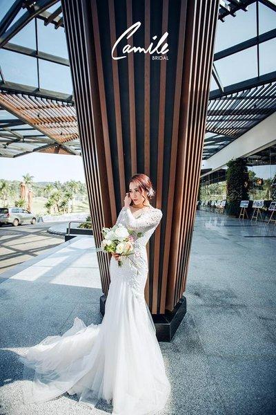 thuê váy cưới Hà Nội 1 Camile Bridal – Thương hiệu may đo thuê váy cưới Hà Nội cao cấp