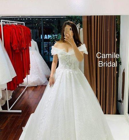 Thuê áo cưới 10 Thuê áo cưới cho cô dâu mập đẹp và rẻ nhất tại Hà Nội