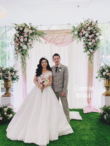 Thuê áo cưới 8 Thuê áo cưới cho cô dâu mập đẹp và rẻ nhất tại Hà Nội