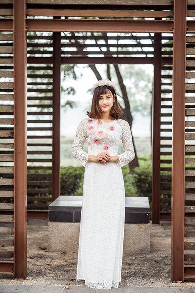 thuê áo dài cưới 2 Nên may hay thuê áo dài cưới cho ngày trọng đại?
