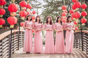 thuê áo dài cưới 7 Nên may hay thuê áo dài cưới cho ngày trọng đại?