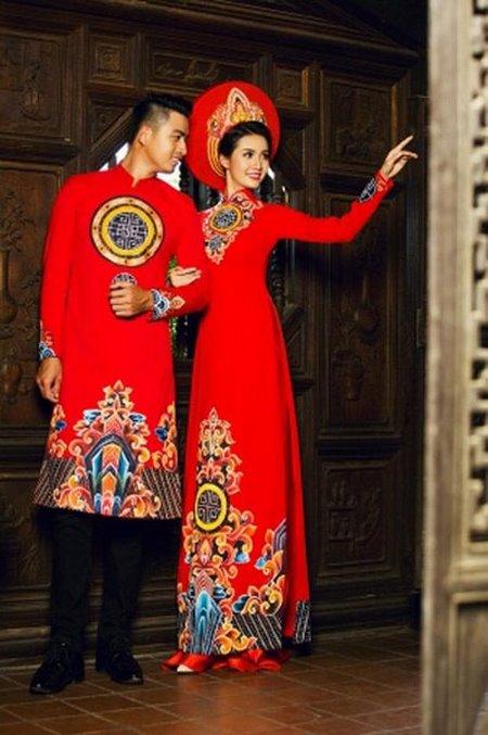 Thuê áo dài cưới 10 Thuê áo dài cưới cặp ở đâu Hà Nội vừa đẹp, vừa rẻ?