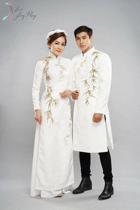 Thuê áo dài cưới 4 Thuê áo dài cưới cặp ở đâu Hà Nội vừa đẹp, vừa rẻ?