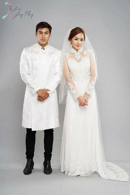 Thuê áo dài cưới 6 Thuê áo dài cưới cặp ở đâu Hà Nội vừa đẹp, vừa rẻ?