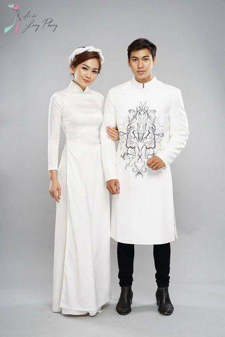Thuê áo dài cưới 7 Thuê áo dài cưới cặp ở đâu Hà Nội vừa đẹp, vừa rẻ?