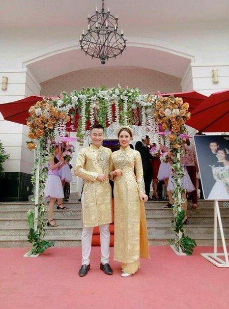 Thuê áo dài cưới 8 Thuê áo dài cưới cặp ở đâu Hà Nội vừa đẹp, vừa rẻ?
