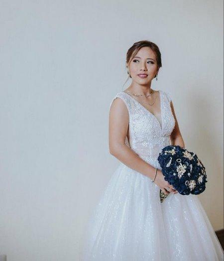 thuê váy cưới đẹp 17 Tuyệt chiêu chọn thuê váy cưới đẹp cho cô dâu lùn