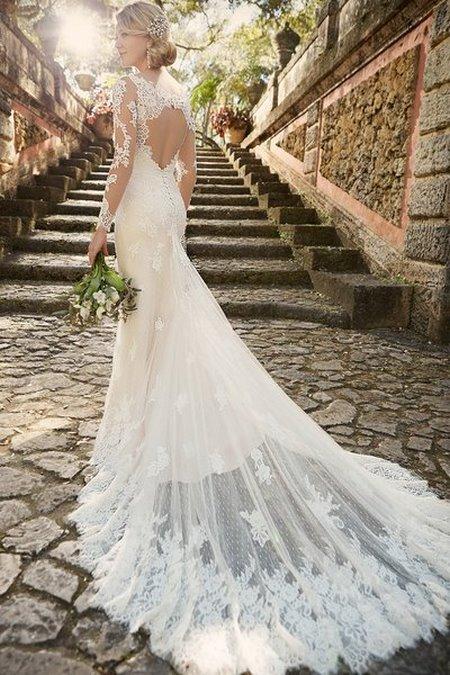 thuê váy cưới đẹp 9 Tuyệt chiêu chọn thuê váy cưới đẹp cho cô dâu lùn