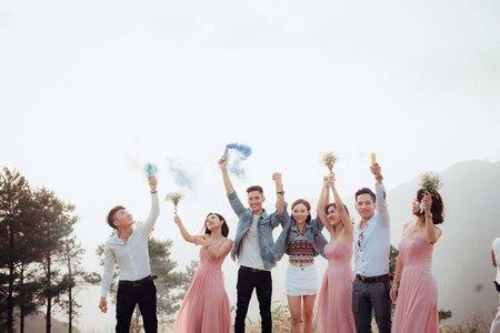 thuê váy phụ dâu 1 Cho thuê váy phụ dâu đẹp, giá rẻ nhất tại Hà Nội