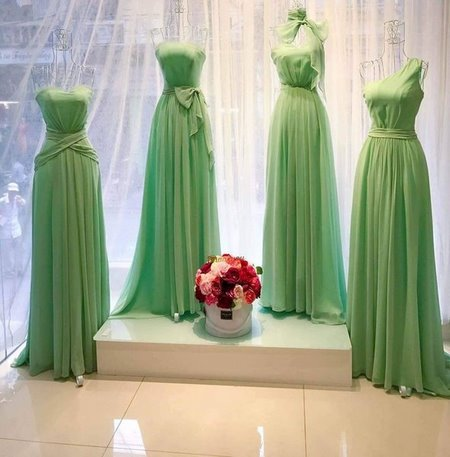 thuê váy phụ dâu Cho thuê váy phụ dâu đẹp, giá rẻ nhất tại Hà Nội