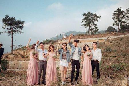 thuê váy phụ dâu 6 Cho thuê váy phụ dâu đẹp, giá rẻ nhất tại Hà Nội