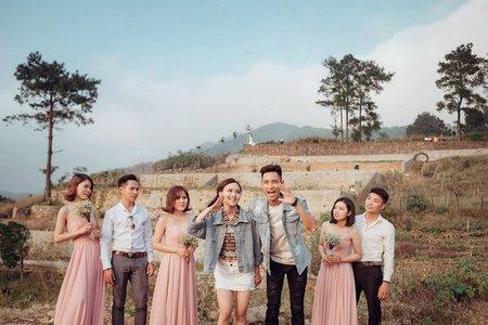 thuê váy phụ dâu 7 Cho thuê váy phụ dâu đẹp, giá rẻ nhất tại Hà Nội