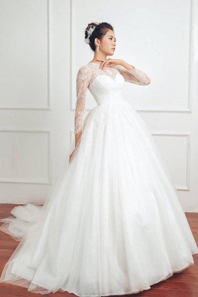 Váy cưới 2 Bí quyết chọn váy cưới theo dáng người siêu chuẩn