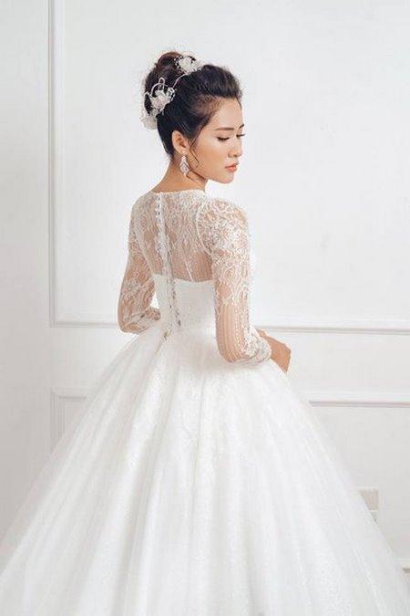 """váy cưới cao cấp 11 Ngất ngây với BST váy cưới ngọt ngào tháng 9 """"The Winter Crystal 2019"""""""