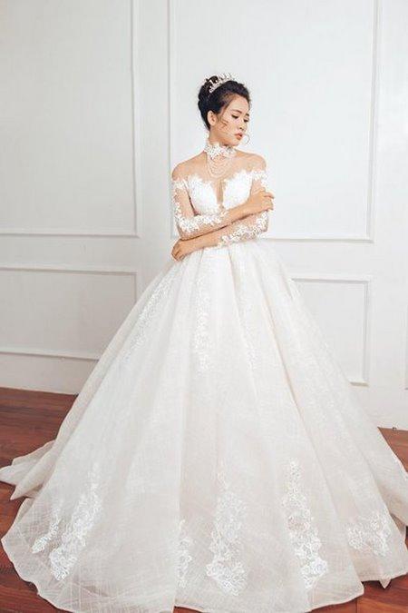 """váy cưới cao cấp 15 Ngất ngây với BST váy cưới ngọt ngào tháng 9 """"The Winter Crystal 2019"""""""