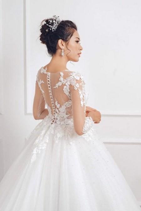 """váy cưới cao cấp 4 Ngất ngây với BST váy cưới ngọt ngào tháng 9 """"The Winter Crystal 2019"""""""