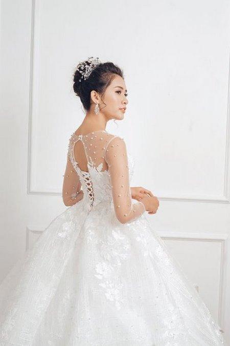"""váy cưới cao cấp 7 Ngất ngây với BST váy cưới ngọt ngào tháng 9 """"The Winter Crystal 2019"""""""