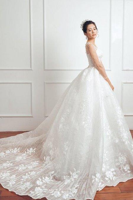 """váy cưới cao cấp 8 Ngất ngây với BST váy cưới ngọt ngào tháng 9 """"The Winter Crystal 2019"""""""