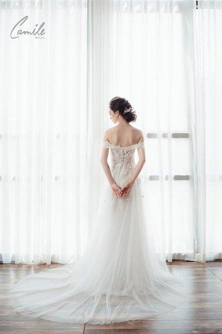 váy cưới cho cô dâu mập 18 Top 30 mẫu váy cưới cho cô dâu mập đẹp nhất hiện nay
