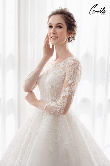 váy cưới cho cô dâu mập 25 Top 30 mẫu váy cưới cho cô dâu mập đẹp nhất hiện nay
