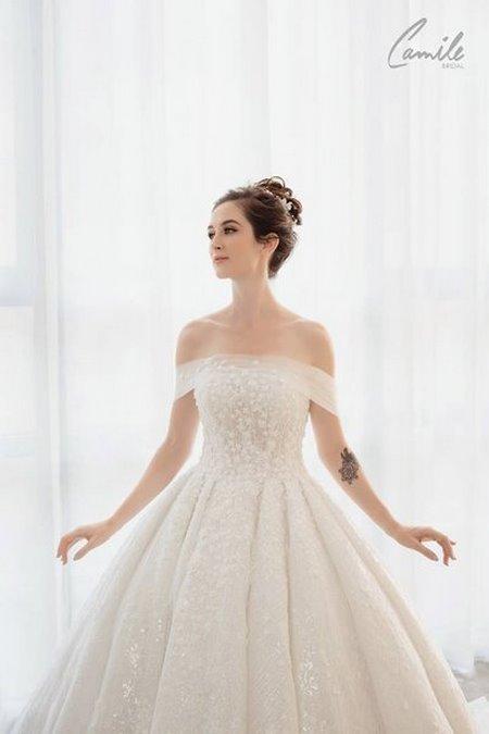 váy cưới cho cô dâu mập 6 Top 30 mẫu váy cưới cho cô dâu mập đẹp nhất hiện nay