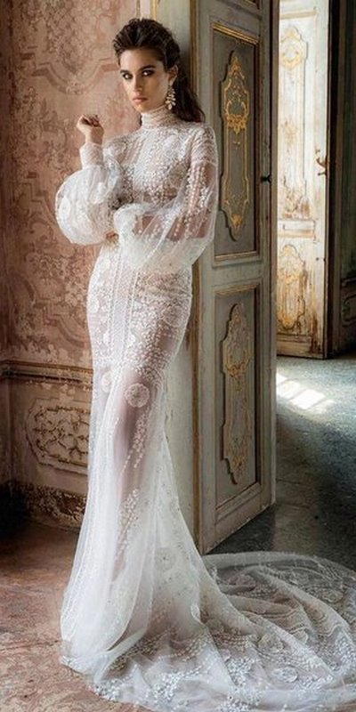 váy cưới cổ điển Top 100+ kiểu váy cưới cổ điển đẹp sang trọng và thanh lịch cho các nàng dâu