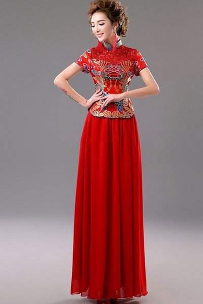 váy cưới cổ trang Top 99+ mẫu váy cưới cổ trang đẹp lộng lẫy cho các nàng dâu xinh