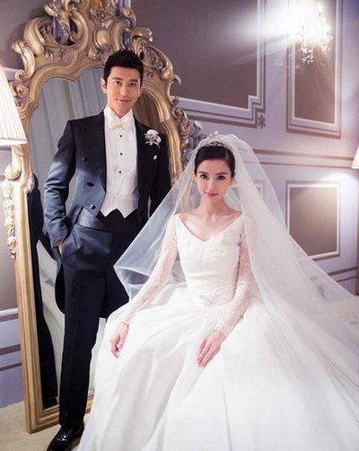 thiết kế váy cưới đẹp 11 Những mẫu váy cưới đẹp nhất của các sao Hoa ngữ