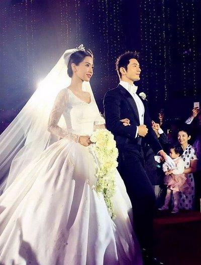 thiết kế váy cưới đẹp 12 Những mẫu váy cưới đẹp nhất của các sao Hoa ngữ