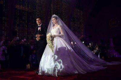 thiết kế váy cưới đẹp 13 Những mẫu váy cưới đẹp nhất của các sao Hoa ngữ