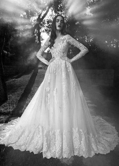thiết kế váy cưới đẹp 4 Những mẫu váy cưới đẹp nhất của các sao Hoa ngữ