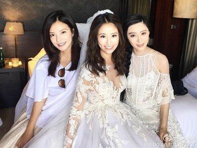 thiết kế váy cưới đẹp 5 Những mẫu váy cưới đẹp nhất của các sao Hoa ngữ