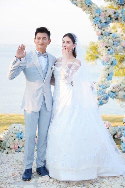thiết kế váy cưới đẹp 6 Những mẫu váy cưới đẹp nhất của các sao Hoa ngữ