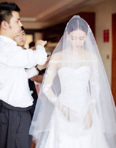 thiết kế váy cưới đẹp 7 Những mẫu váy cưới đẹp nhất của các sao Hoa ngữ