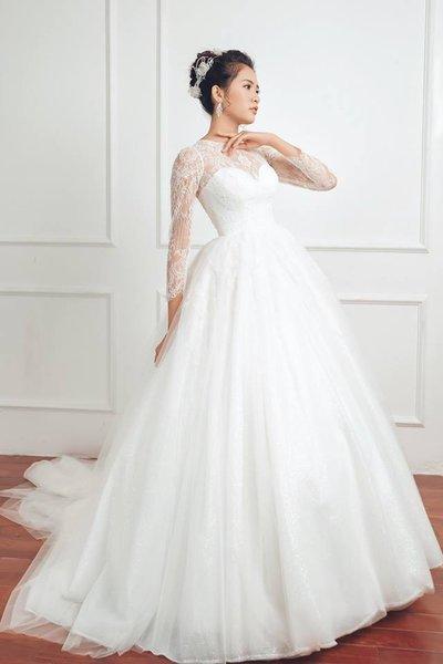 Thuê váy cưới màu trắng 15 Khi thuê váy cưới, tại sao nhất định phải chọn màu trắng?