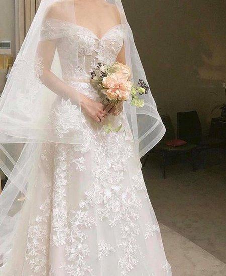 váy cưới nhẹ nhàng 2 Đẹp dịu dàng với váy cưới BST váy cưới nhẹ nhàng của Camile Bridal
