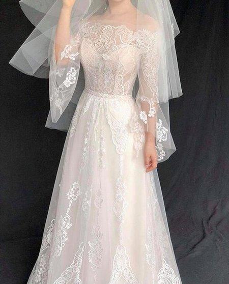 váy cưới nhẹ nhàng 3 Đẹp dịu dàng với váy cưới BST váy cưới nhẹ nhàng của Camile Bridal