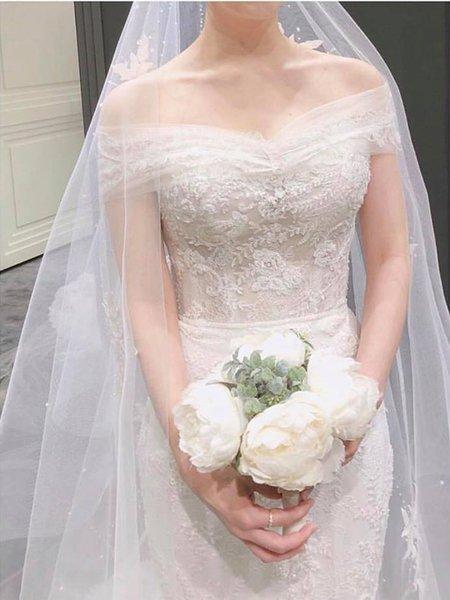 váy cưới nhẹ nhàng 5 Đẹp dịu dàng với váy cưới BST váy cưới nhẹ nhàng của Camile Bridal