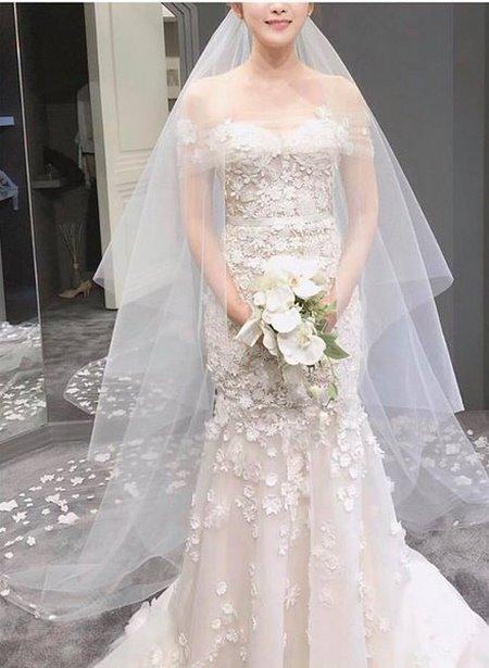 váy cưới nhẹ nhàng 7 Đẹp dịu dàng với váy cưới BST váy cưới nhẹ nhàng của Camile Bridal