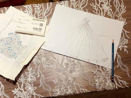 Váy cưới ren 1 Hóa thiên thần với BST áo cưới ren siêu lãng mạn của CAMILE BRIDAL