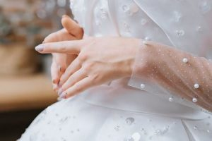Váy cưới ren 4 Hóa thiên thần với BST áo cưới ren siêu lãng mạn của CAMILE BRIDAL