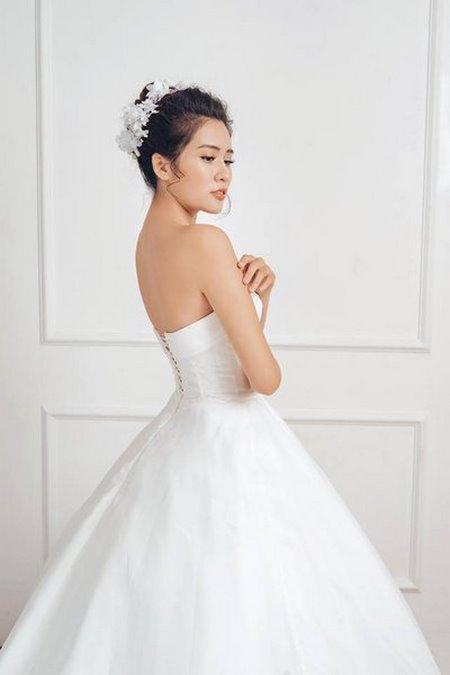 Váy cưới Satin  Đẹp sang trọng, quyến rũ với BST Váy cưới Satin của Camile Bridal