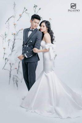 Ảnh Cưới Chụp Studio Style Hàn Quốc