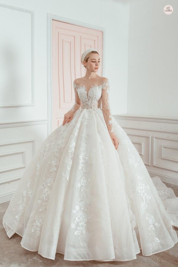 thuê váy cưới Huyện Thanh Trì 1 Kinh nghiệm thuê váy cưới huyện Thanh Trì để trở thành cô dâu đẹp nhất trong ngày cưới