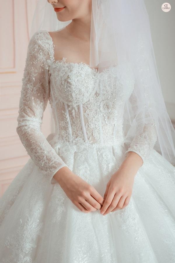 thuê váy cưới Huyện Thanh Trì 2 Kinh nghiệm thuê váy cưới huyện Thanh Trì để trở thành cô dâu đẹp nhất trong ngày cưới