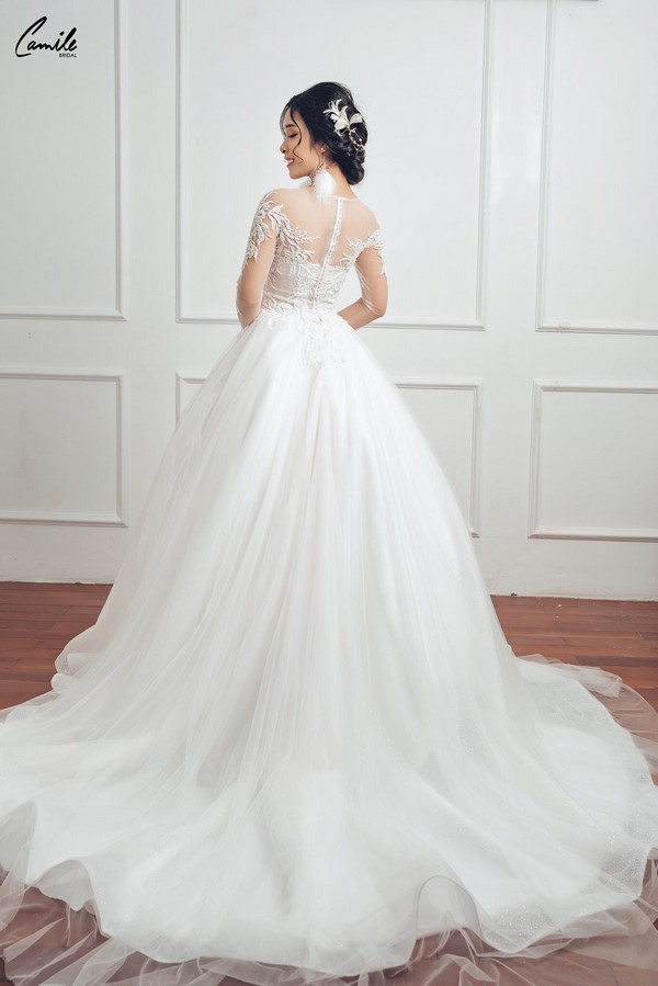 váy cưới dành cho người lùn 10 Địa chỉ cho thuê váy cưới dành cho người lùn đẹp nhất tại Hà Nội