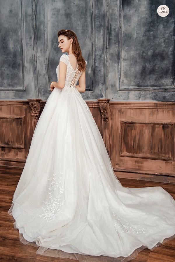váy cưới dành cho người lùn 3 Địa chỉ cho thuê váy cưới dành cho người lùn đẹp nhất tại Hà Nội