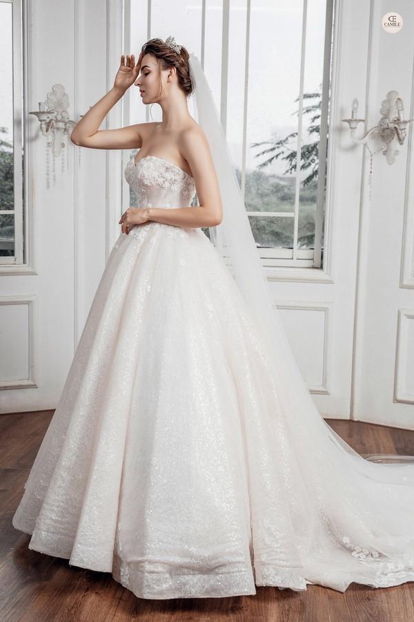 váy cưới dành cho người lùn 6 Địa chỉ cho thuê váy cưới dành cho người lùn đẹp nhất tại Hà Nội