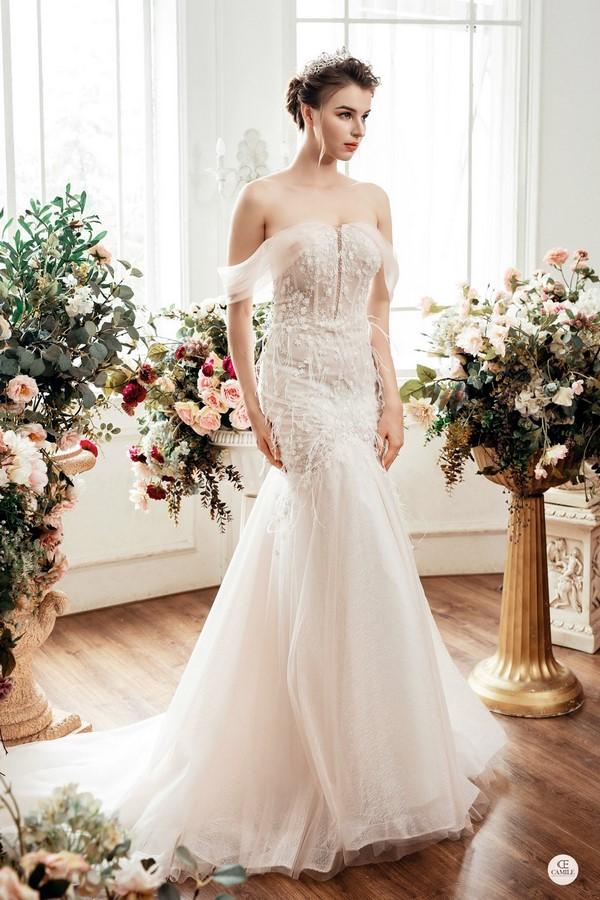 váy cưới dành cho người lùn 7 Địa chỉ cho thuê váy cưới dành cho người lùn đẹp nhất tại Hà Nội